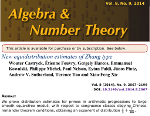 Work with the Polymath project was published on Algebra & Number Theory